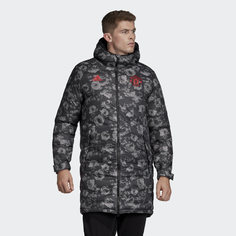 Удлиненная куртка Манчестер Юнайтед Seasonal Special adidas Performance