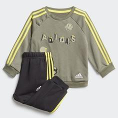 Комплект: джемпер и брюки Graphic adidas Performance