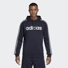 Худи Essentials 3-Stripes Pullover adidas Performance