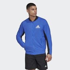 Куртка-бомбер VRCT Light adidas Athletics