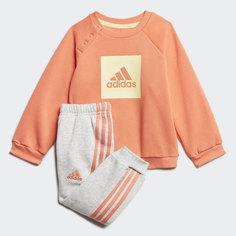Флисовый комплект: джемпер и брюки 3-Stripes adidas Performance