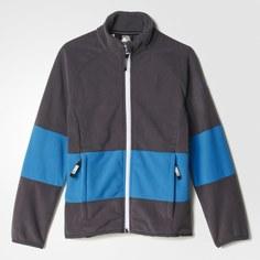 Детская флисовая куртка whisper adidas TERREX