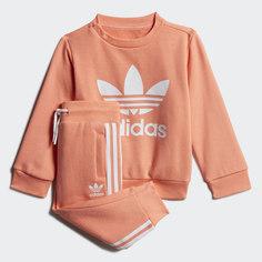 Комплект: свитшот и брюки Crew adidas Originals