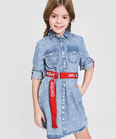 Джинсовое платье O`Stin