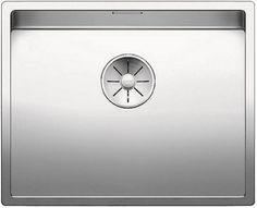 Кухонная мойка Blanco Claron 500-U InFino зеркальная полированная сталь 521577
