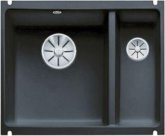 Кухонная мойка Blanco Subline 350/150-U InFino черный 523747
