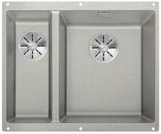 Кухонная мойка Blanco Subline 340/160-U InFino жемчужный 523561