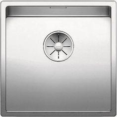 Кухонная мойка Blanco Claron 400-U InFino зеркальная полированная сталь 521573