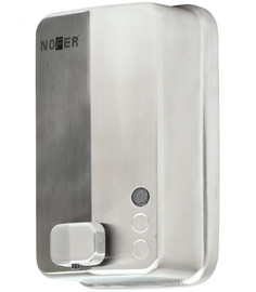 Диспенсер для мыла 1200 мл матовый хром Nofer Inox Evo 03050.S