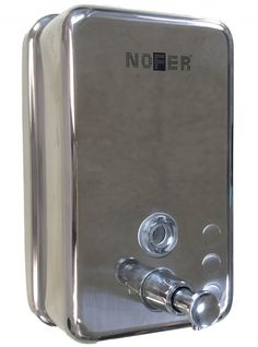 Диспенсер для мыла 1200 мл хром Nofer Inox 03041.B