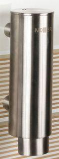 Диспенсер для мыла 300 мл матовый хром Nofer Inox 03024.S