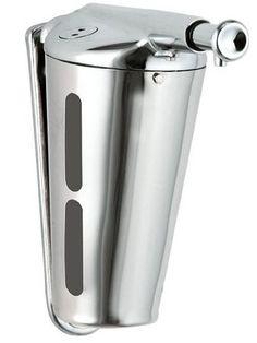 Диспенсер для мыла 345 мл хром Nofer Inox 03003.B