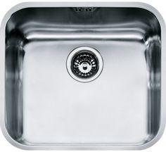 Кухонная мойка Franke Galassia GAX 110-45 полированная сталь 122.0021.440