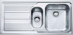 Кухонная мойка Franke Logica Line LLX 651 полированная сталь 101.0085.812