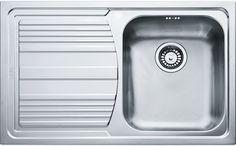 Кухонная мойка Franke Logika LLX 611 декоративная сталь 101.0086.233