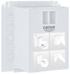 Ревизионный короб для крепления панелей смыва Grohe 40911000