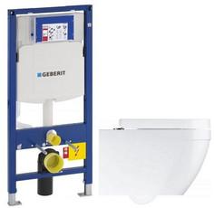Комплект подвесной унитаз Grohe Euro Ceramic 39328000 + 39330001 + система инсталляции Geberit 111.300.00.5
