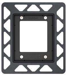 Монтажная рамка черный Tece TECEfilo 9242042