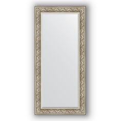 Зеркало 80х170 см барокко серебро Evoform Exclusive BY 3606