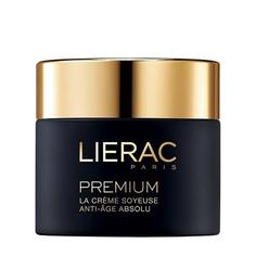LIERAC Антивозрастной бархатистый крем для лица «Premium» 50 мл