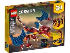 Конструктор Lego Creator Огненный дракон 234 дет. 31102