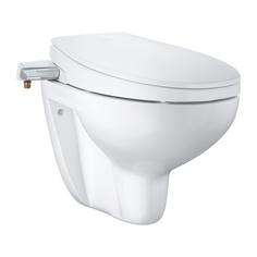 Комплект 2 в1 GROHE Bau: сиденье-биде, подвесной безободковый унитаз, альпин-белый (39651SH0)