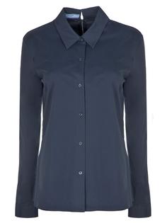 Рубашка хлопковая 240531 Prada