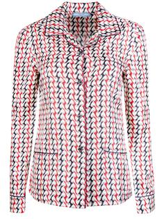 Шелковая рубашка pg6041 s 172 giacca Prada