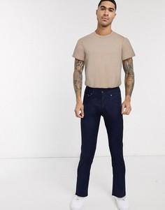 Синие узкие джинсы Jack & Jones-Темно-синий
