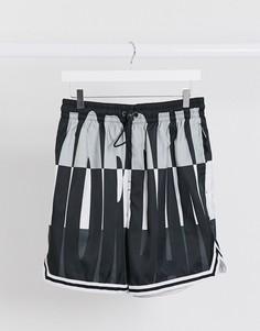 Черные шорты для плавания с логотипом Nike Jordan-Черный