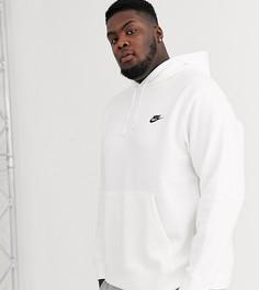 Худи белого цвета Nike Plus Club-Белый