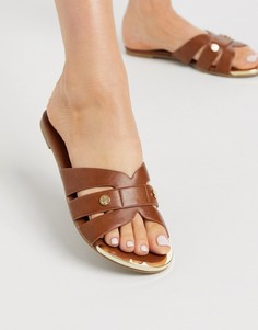 Светло-коричневые сандалии Miss KG-Светло-коричневый