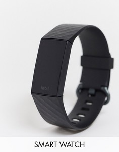 Черные смарт-часы Fitbit Charge 4-Черный