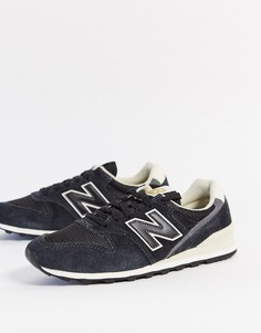 Черные кроссовки New Balance 996-Черный