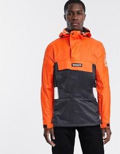 Куртка с капюшоном и вставками колор блок Timberland-Оранжевый