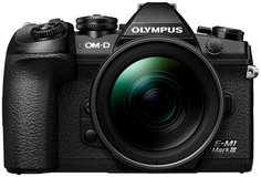 Цифровой фотоаппарат Olympus OM-D E-M1 Mark III + EZ-M1240 (черный)