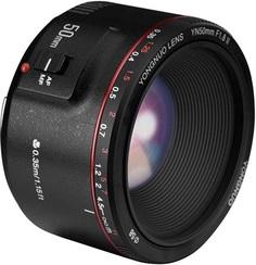 Объектив Yongnuo 50mm F/1.8II для Canon (черный)