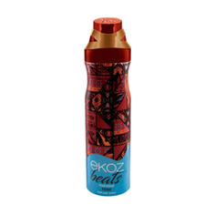 Дезодорант-спрей парфюмированный Ekoz Beats Tribe женский 200 мл