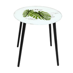 Столик кофейный Bizzotto furniture Leaves 50х50х50 см