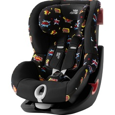 Детское автокресло Britax Roemer King II Black Series Comic Fun Highline