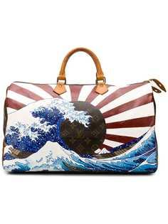 Louis Vuitton дорожная сумка с принтом