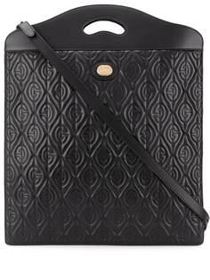 Gucci стеганая сумка-тоут с логотипом