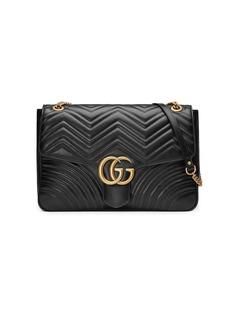 Gucci большая сумка на плечо GG Marmont