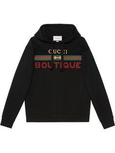 Gucci худи с принтом Gucci Boutique