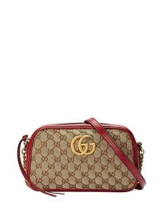 Gucci маленькая сумка через плечо GG Marmont