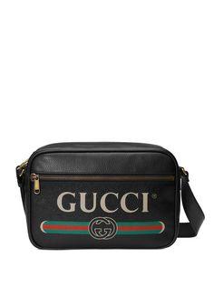 Gucci сумка на плечо с принтом