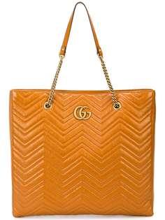Gucci большая сумка-тоут GG Marmont