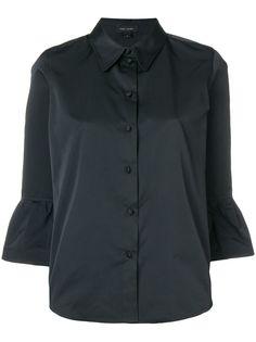 Marc Jacobs приталенная блузка с оборкой