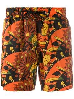 RRD плавки-шорты с принтом