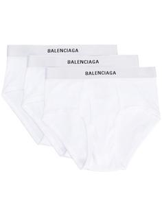 Balenciaga комплект брифов с логотипом